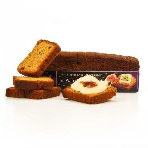 Toast pain d'épices figues - spécial foie gras