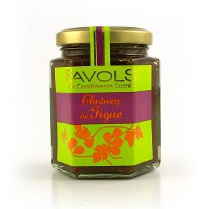 Chutney de figue - Condiment sucré salé