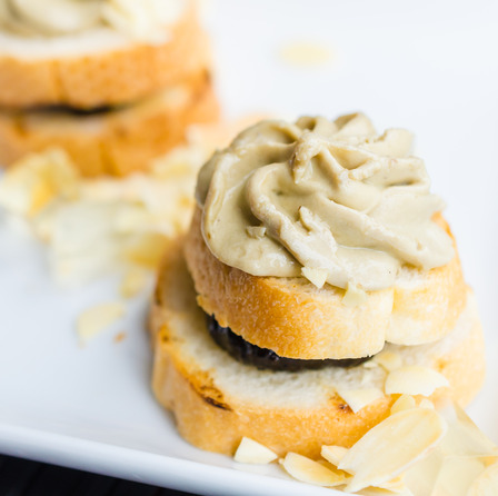 Amuse-bouches au foie gras
