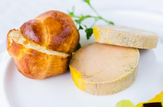 Recettes brioches au foie gras