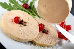 Découpe du foie gras